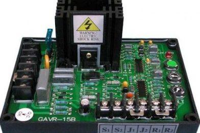 Spesifikasi dan Keunggulan AVR Genset Carbon Brush 80 A 3 phase